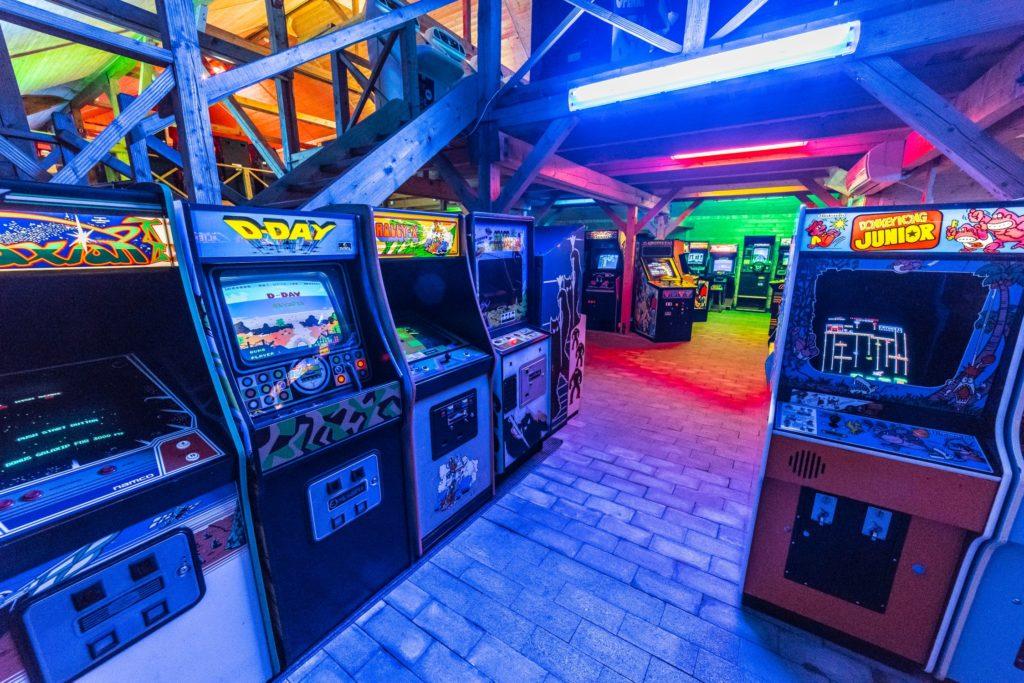 Аркадные автоматы в Červený Újezd © www.arcadehry.cz