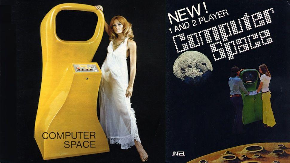 Computer Space: первый игровой аркадный автомат