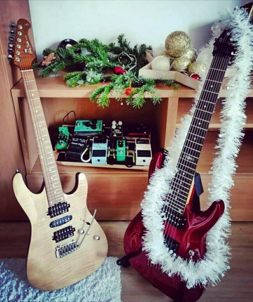 Мои гитары '20