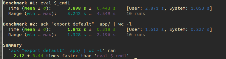 hyperfine и бенчмарки на Linux